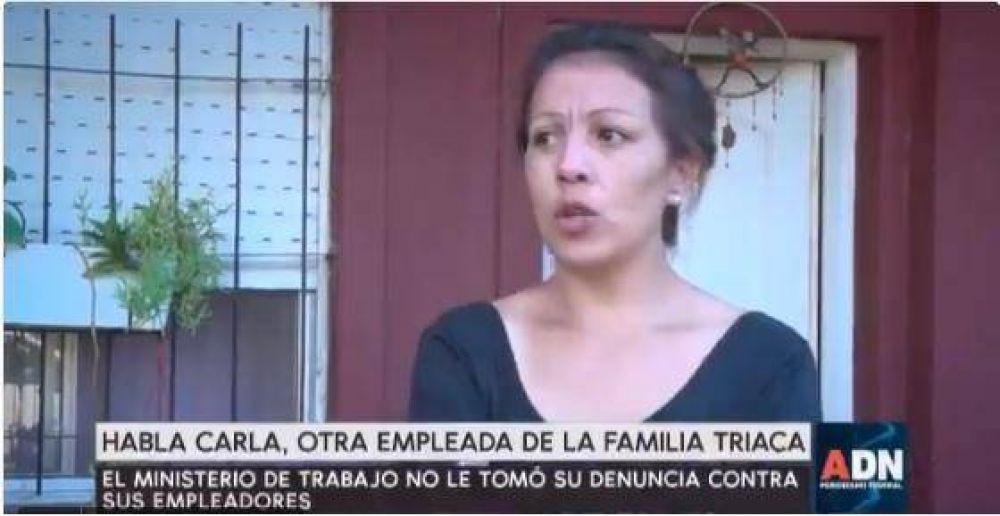 Otra empleada de los Triaca denunció malos tratos, persecución y despido ilegal