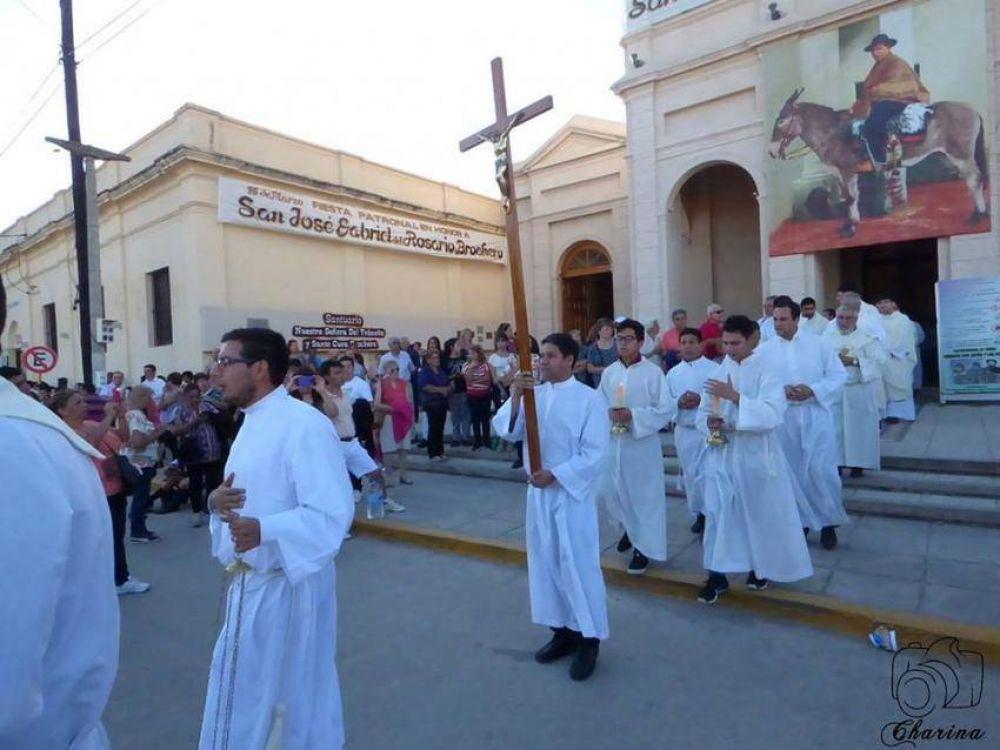 Más de 10.000 personas celebraron al Santo Cura Brochero
