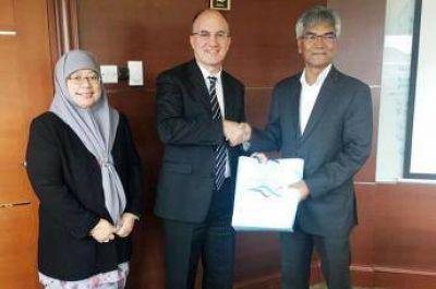 El Embajador argentino se reunió con funcionarios de Brunei