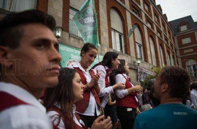 Casineros planean otra manifestación en Mar del Plata