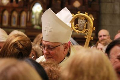 Monseñor Arancedo celebró su aniversario sacerdotal y episcopal en Mar del Plata