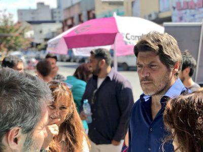 Castello recorrió Necochea y presentó la Junta Promotora de la Coalición Cívica