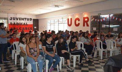 Más de 120 jóvenes radicales se reunieron en Balcarce