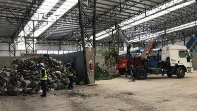 Ceamse presentó la nueva Planta de Tratamiento de Residuos de Ensenada
