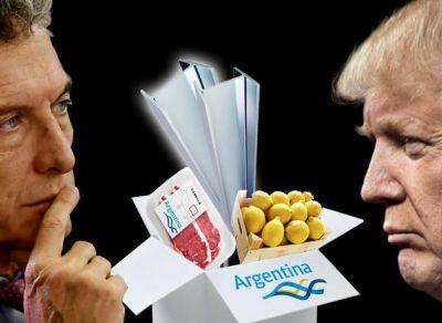 Acero, carne y limones: qué negocios puede perder y ganar el Gobierno en su pulseada con un Trump