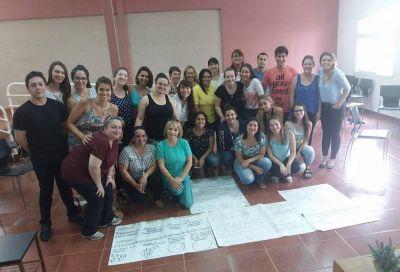 Más de 100 inscriptos en el curso de acompañante terapéutico