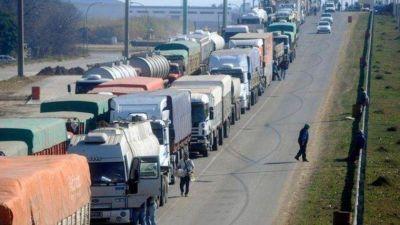 Licitarán obras clave para eliminar las colas de camiones en accesos