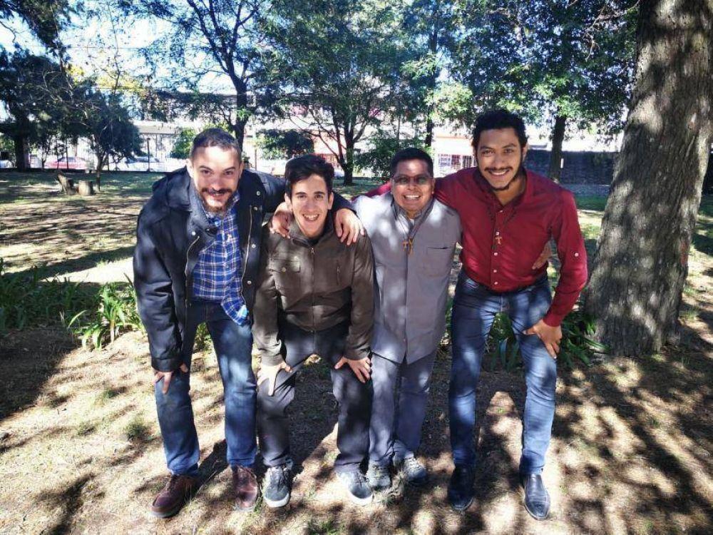Quilmes dio la bienvenida a cuatro nuevos seminaristas
