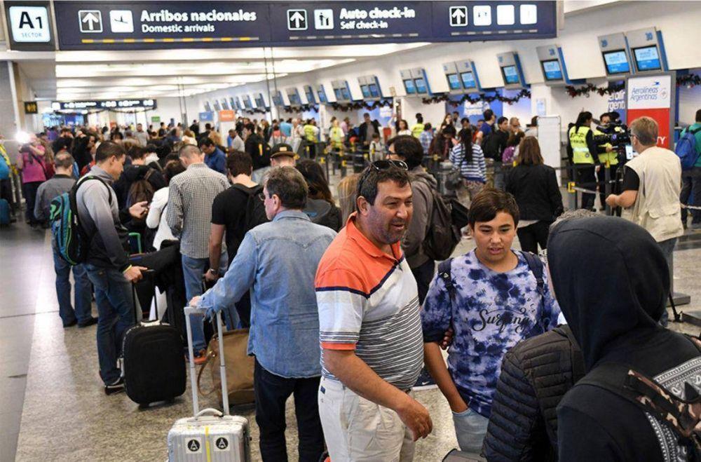 """APLA anunció que """"claramente podrían peligrar los vuelos"""" en Semana Santa"""