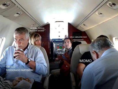 """Lo que el """"Momo"""" siempre ocultó: Aparecen videos y fotos de su lujoso avión privado"""