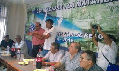 La CGT Matanza confirmó su normalización