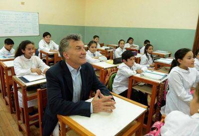 Macri presenta los resultados de la evaluación Aprender 2017