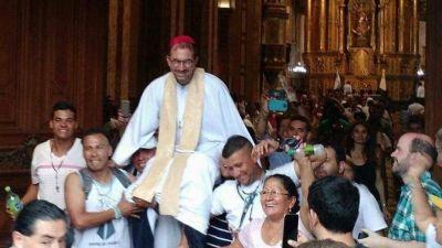 """""""Siempre estuvimos a favor de la vida"""" aseguró Monseñor Carrara junto a los curas villeros de Buenos Aires"""