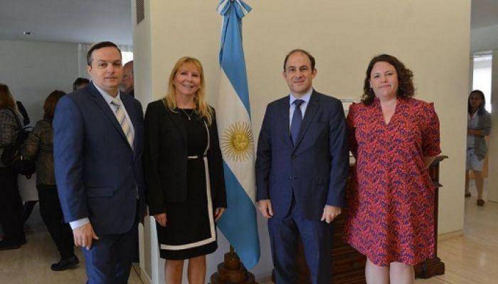 El Embajador de Argentina en Israel recibió a la DAIA