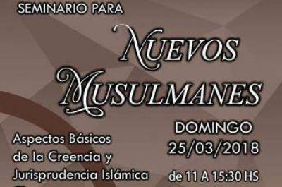 Seminario para nuevos musulmanes en el Centro Cultural Islámico de Buenos Aires