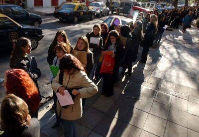 Hay más de 500 mil desocupados en el Conurbano