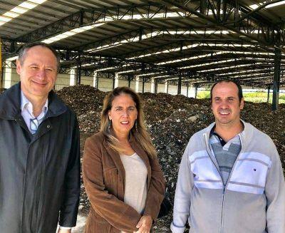 Concejales del masissmo y del GEN recorrieron la planta del CEAMSE en la región: los detalles
