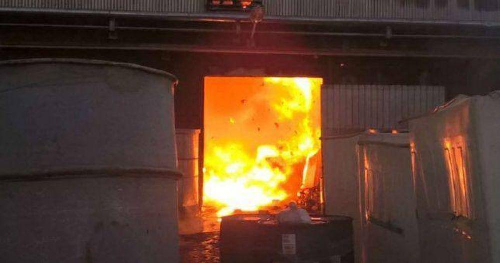 Tras el incendio, suspendieron al 95% de los trabajadores de Mafissa