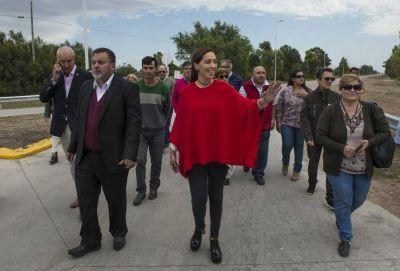 Vidal dedicó el jueves a tres distritos de la sexta sección