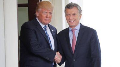 Con la firma de Trump: entra Macri en el grupo selecto de los siete socios de los Estados Unidos