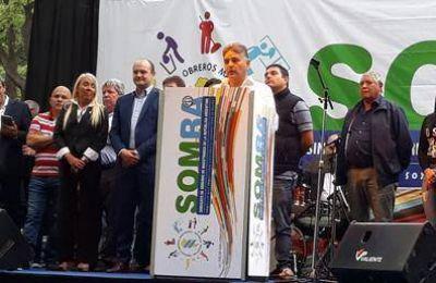 """El SOM inauguró el Monumento """"Maestros en el arte de limpiar"""""""