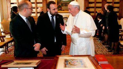 El Papa Francisco recibe a los Capitanes Regentes de la República de San Marino