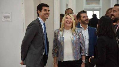 Juan Manuel Urtubey sumó el apoyo de la gobernadora de Tierra del Fuego para su candidatura presidencial en 2019