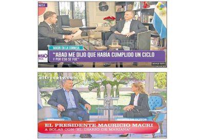 Reporteando a Macri