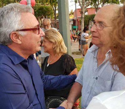 Julio Zamora reclamó al gobierno nacional por las obras de cloacas en Tigre