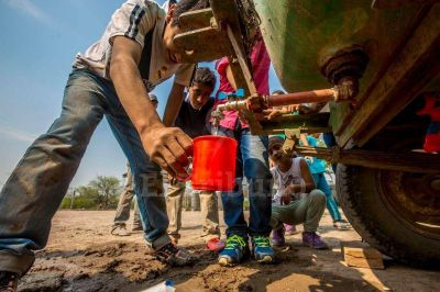 Niños que beben agua con arsénico en el chaco salteño