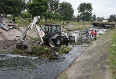 Fueron retiradas 60 toneladas de residuos del acceso por San Cayetano