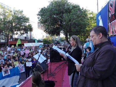 CHACO: Resistencia se plegó a la marcha nacional por la vida y contra el aborto