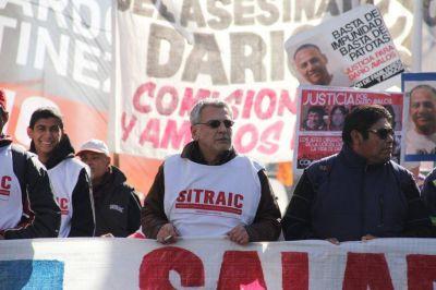 Trabajo en Negro: el Sitraic paralizó 4 obras del empresario Luis Teplitsky