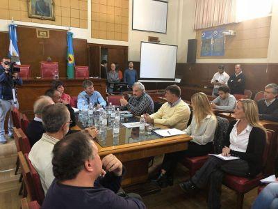 OSSE participó junto a representantes de la construcción en positiva jornada de trabajo en el Concejo Deliberante
