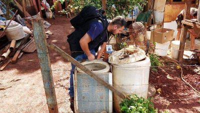 Dengue: retiraron 1400 toneladas de residuos voluminosos de hogares
