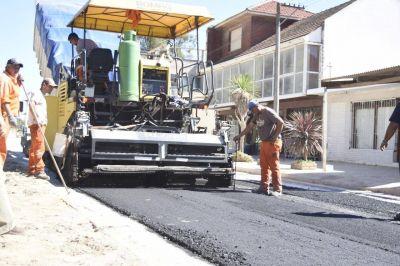 Inician el asfalto del nuevo tramo de la avenida 10