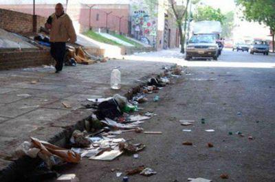 La basura, por todas partes