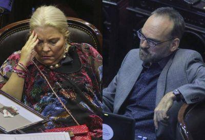 Fernando Iglesias y Elisa Carrió, en el centro de la polémica por el canje de pasajes aéreos