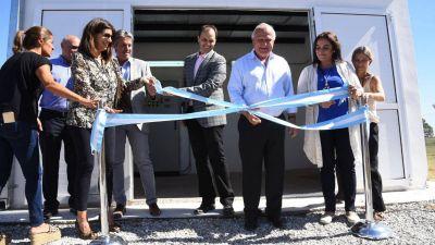Se inauguró el acueducto Totoras – Salto Grande