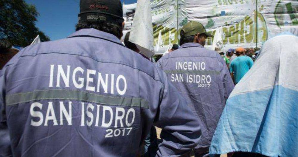 Azucareros marcharán para pedirle a Urtubey la expropiación del Ingenio San Isidro