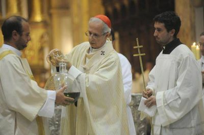El Card. Poli presidirá las celebraciones principales de Semana Santa
