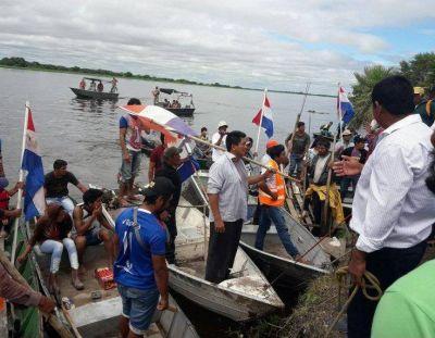 Los Ishir liberan río Paraguay