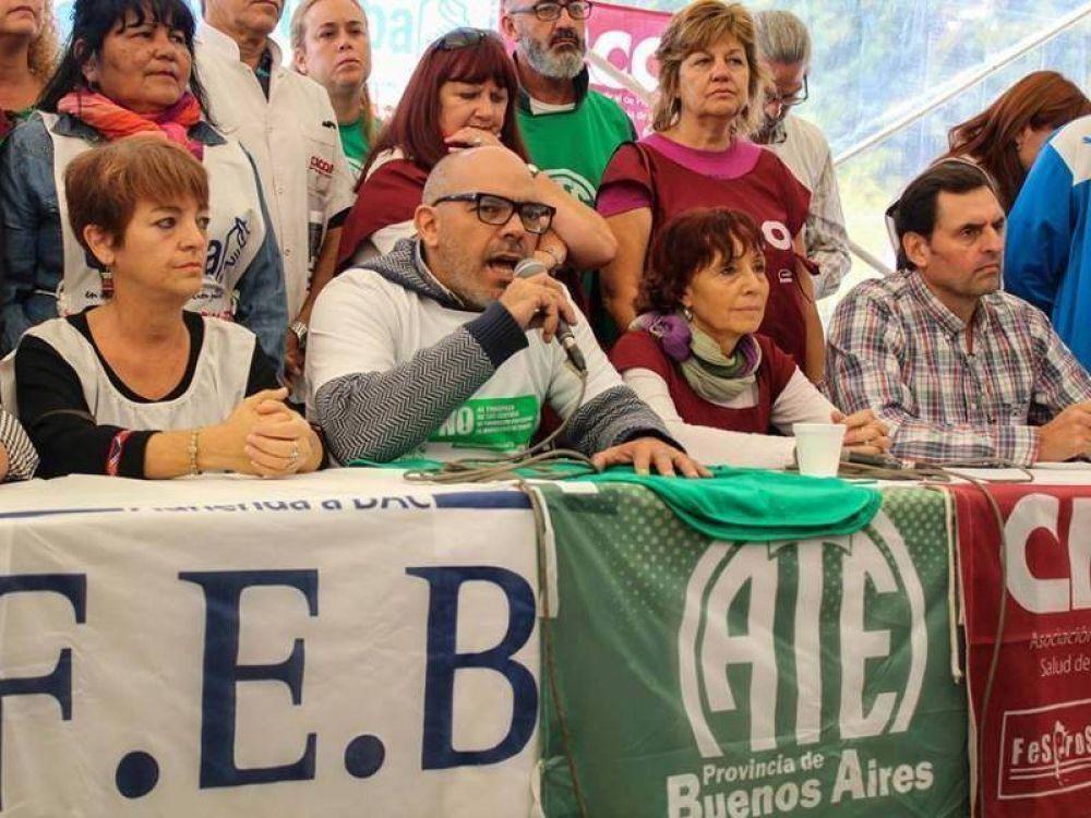 """Jésica Salinas, de ATE Educación: """"La carpa fue contundente, bastante visitada por vecinos"""""""
