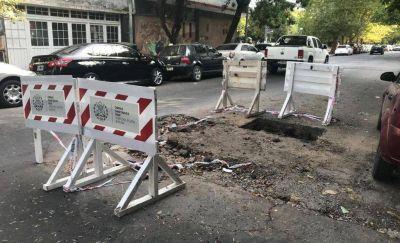 El Emvial le reclama más de 600 mil pesos a Osse por la rotura ilegal de calles