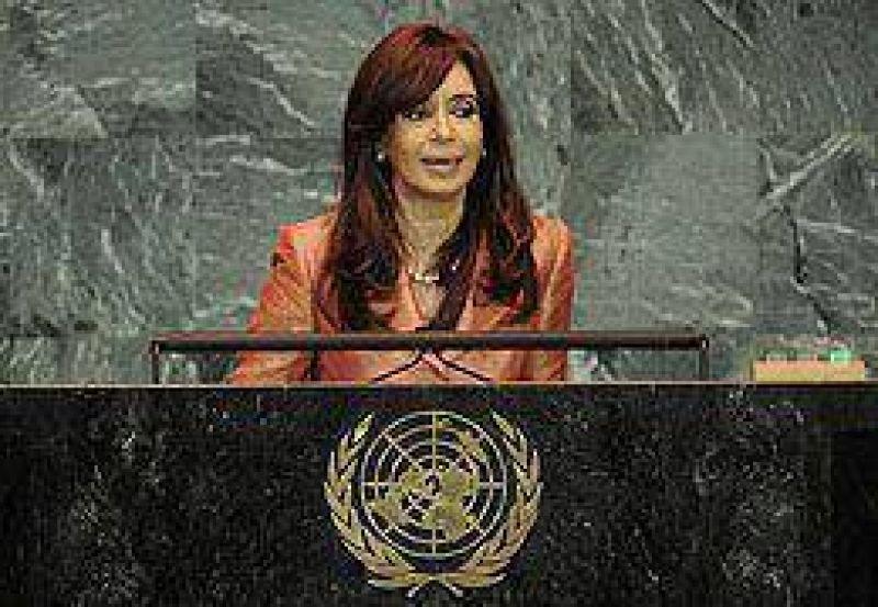 Ante la ONU, Cristina hizo un fuerte reclamo a Irán por la causa AMIA y repudió el golpe en Honduras