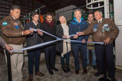 Con la inauguración de la nueva planta de Andorra, 8100 vecinos de Ushuaia tendrán agua potable