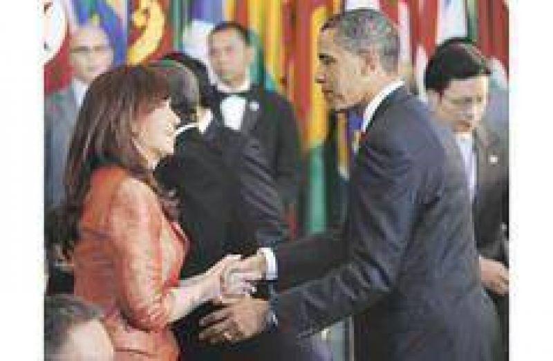 Cristina buscó la foto con Obama que abra puertas de los mercados