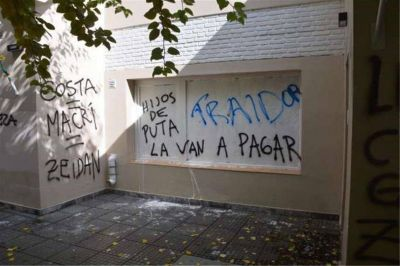 Denuncian a gremialistas por agresiones en Santa Cruz