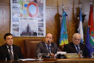 Insaurralde puso en marcha el HCD con anuncios de obras y críticas al Gobierno