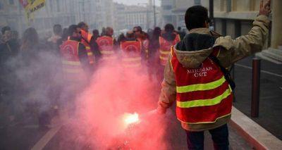 Francia: CATT e ITF se solidarizaron con los trabajadores ferroviarios